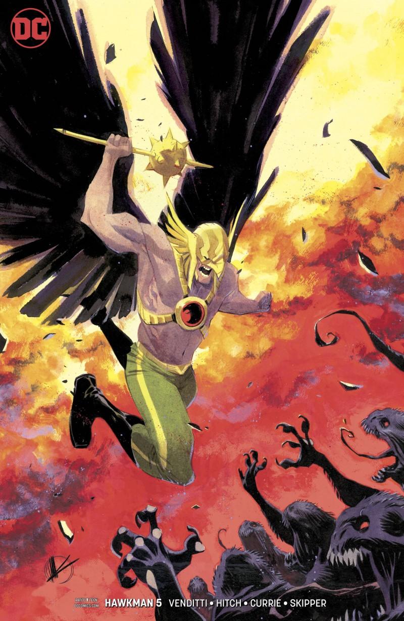 Hawkman V5 #5 CVR B