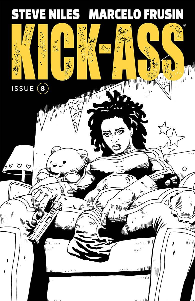 Kick-Ass V4 #8 CVR B Frusin