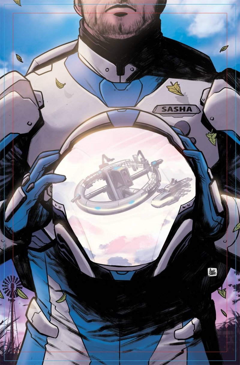 Last Space Race #1 CVR A Shibao