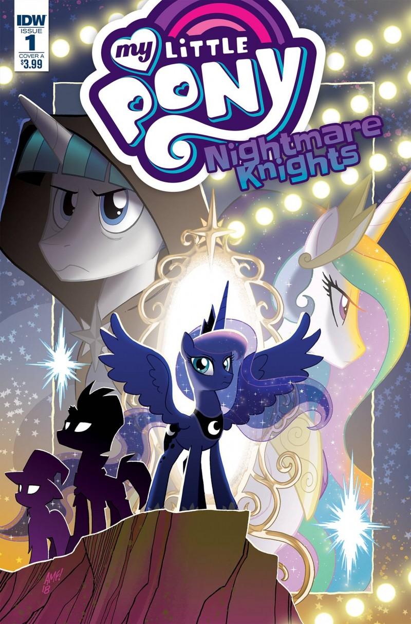 My Little Pony Nightmare Knights #1