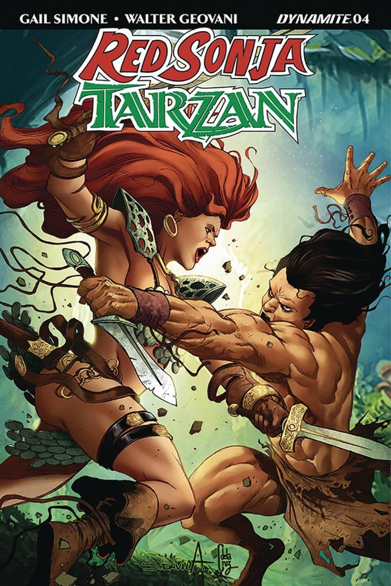 Red Sonja Tarzan #5 CVR B Davila