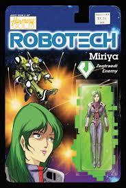Robotech #13 CVR B Action Figure