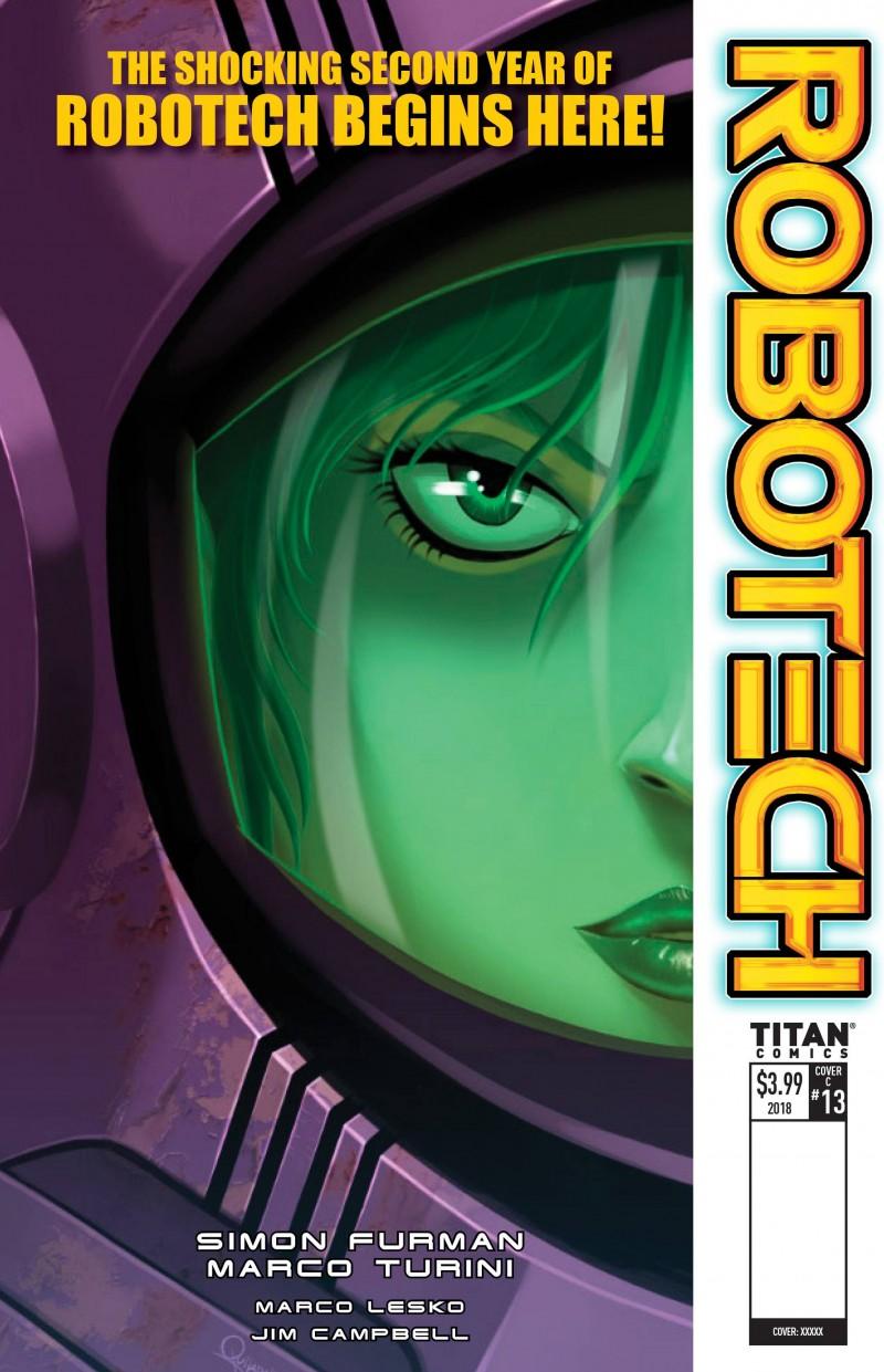 Robotech #13 CVR D Quijada