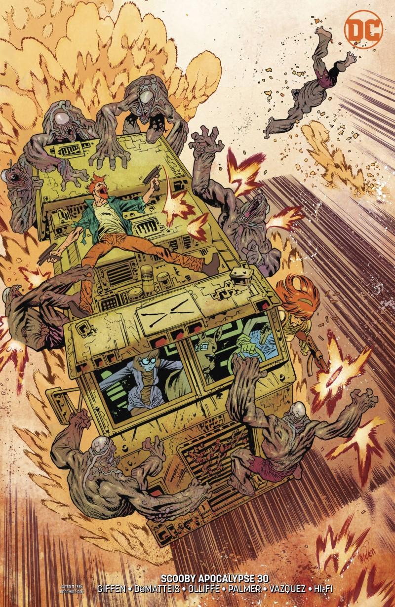 Scooby Apocalypse #30 CVR B
