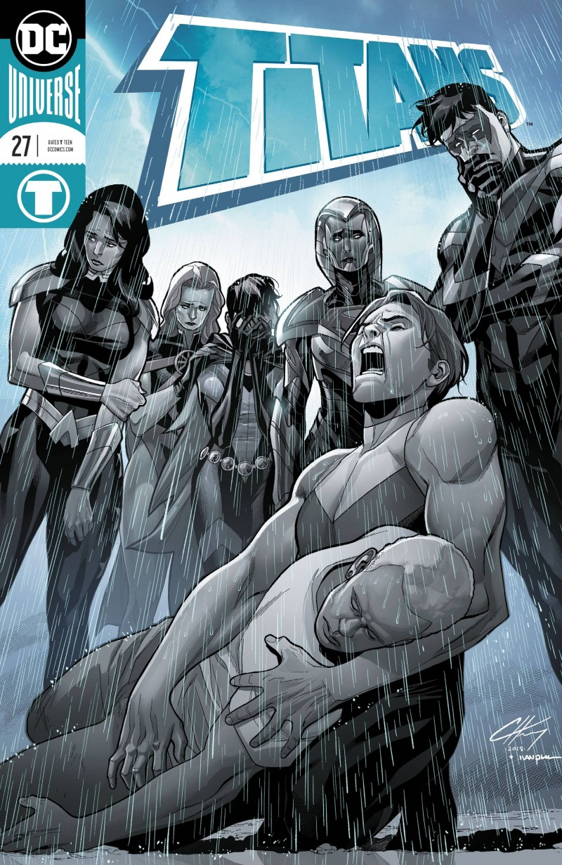 Titans V3 #27 CVR A Foil