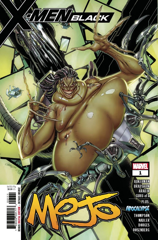 X-Men Black One-Shot Mojo