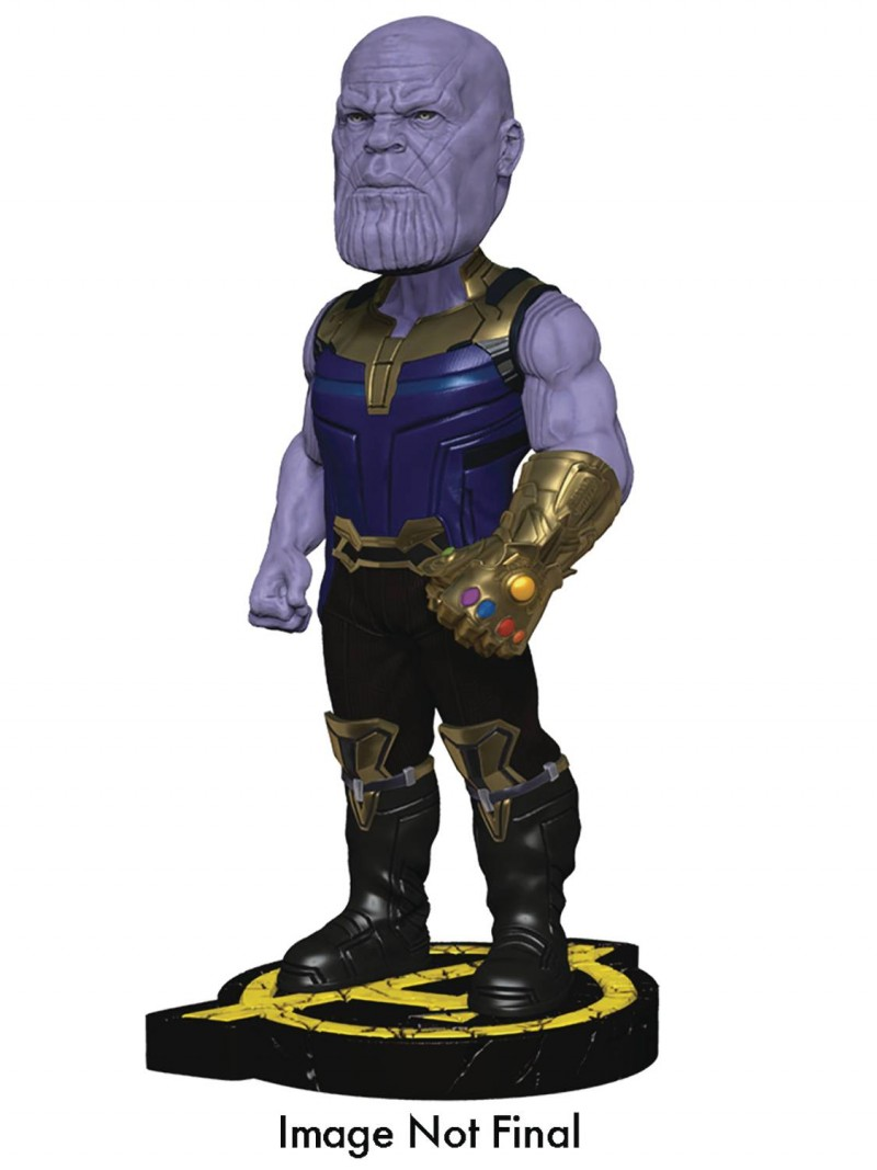 Marvel Head Knocker Avengers Infinity War Thanos