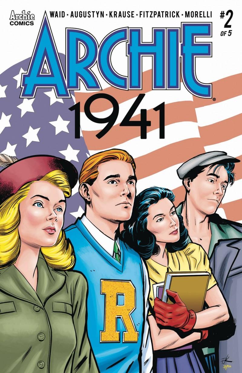 Archie 1941 #2 CVR A Krause