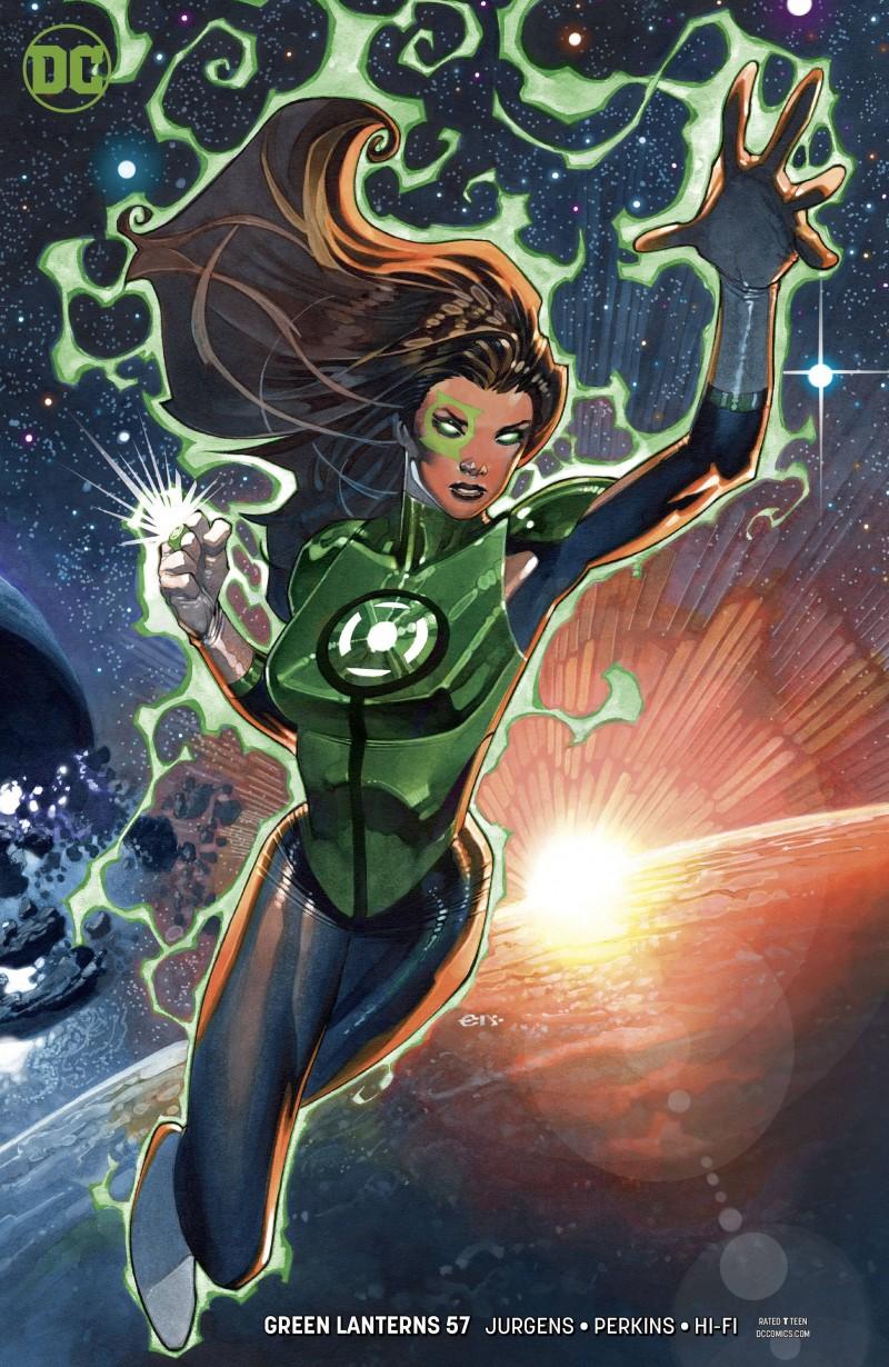 Green Lanterns #57 CVR B