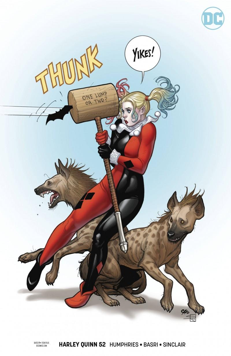 Harley Quinn V3 #52 CVR B