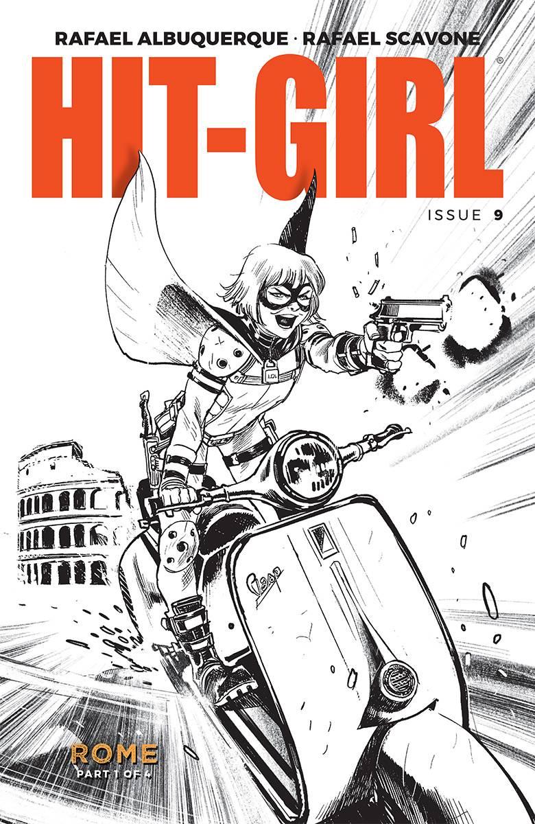 Hit-Girl V2 #9 CVR B Albuquerque