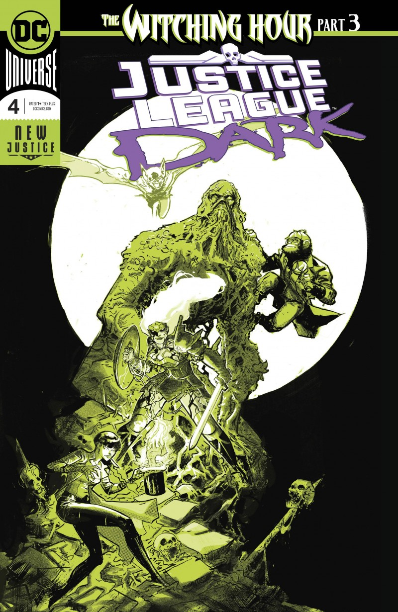 Justice League Dark V2 #4 CVR A Foil