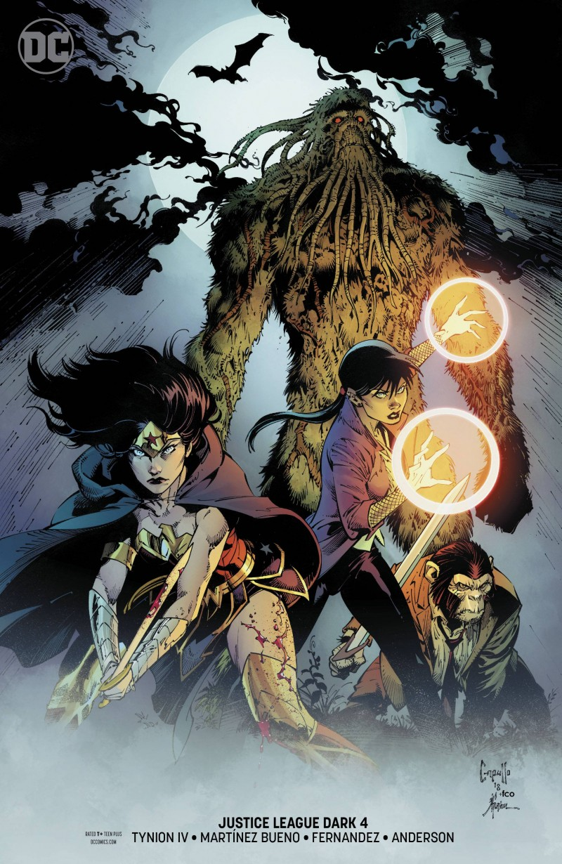 Justice League Dark  #4 CVR B
