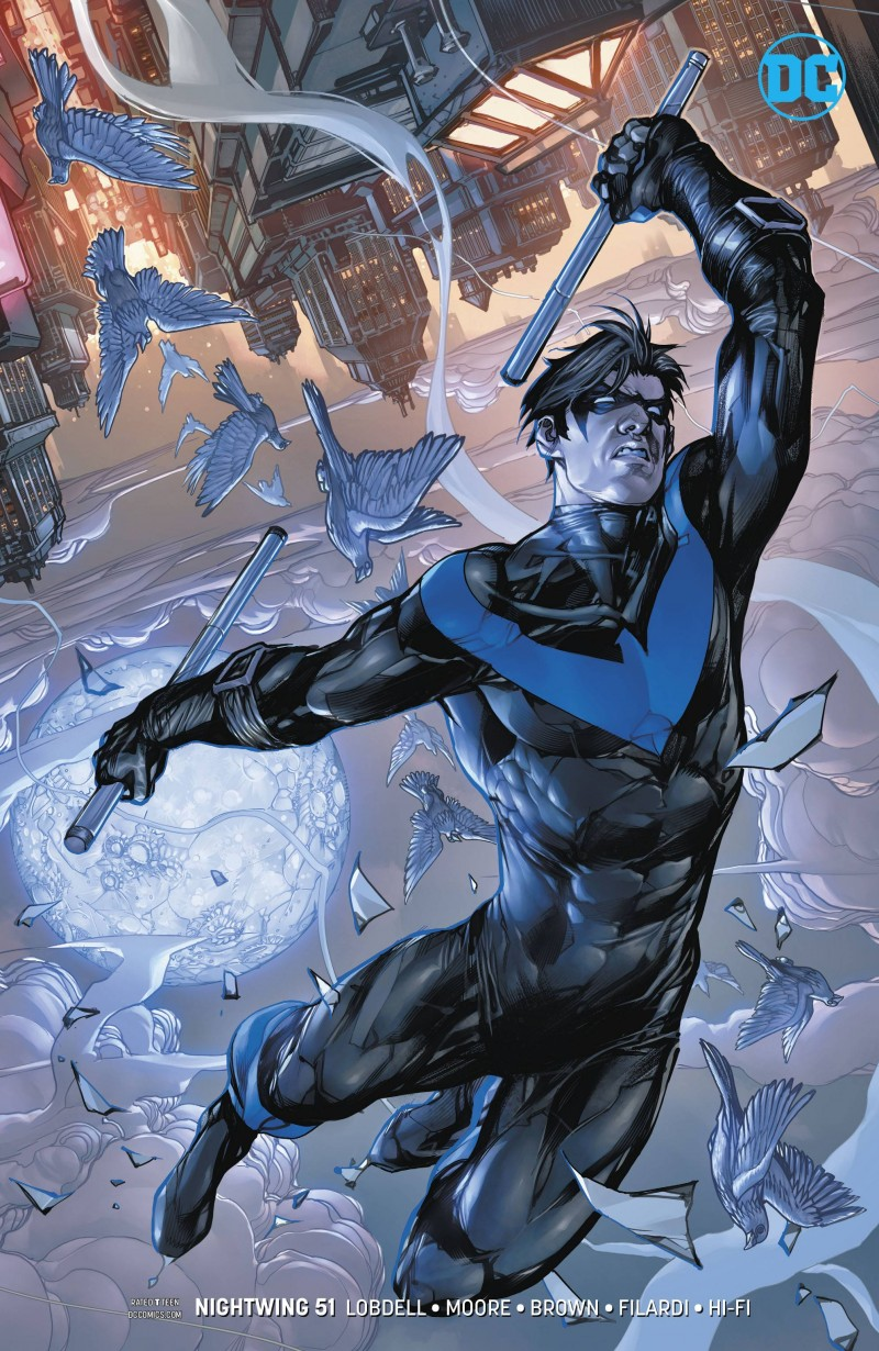 Nightwing  #51 CVR B