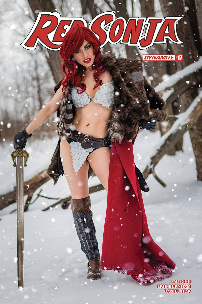 Red Sonja  #22 CVR E Cosplay