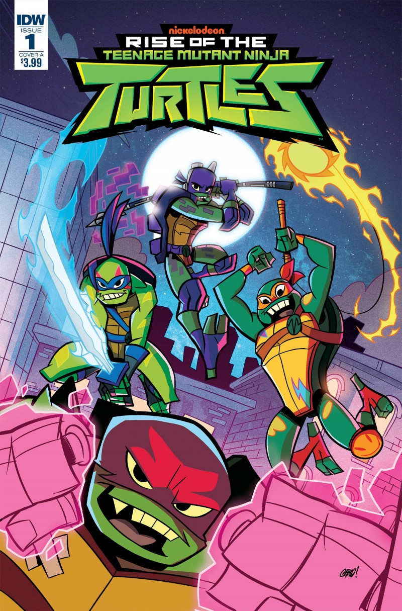 Rise of the TMNT #1