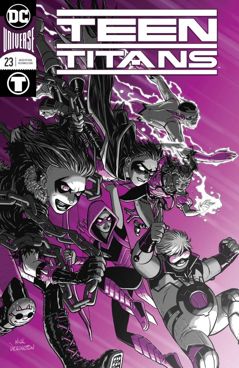 Teen Titans V6 #23 CVR A Foil