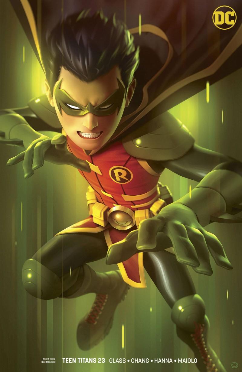 Teen Titans  #23 CVR B