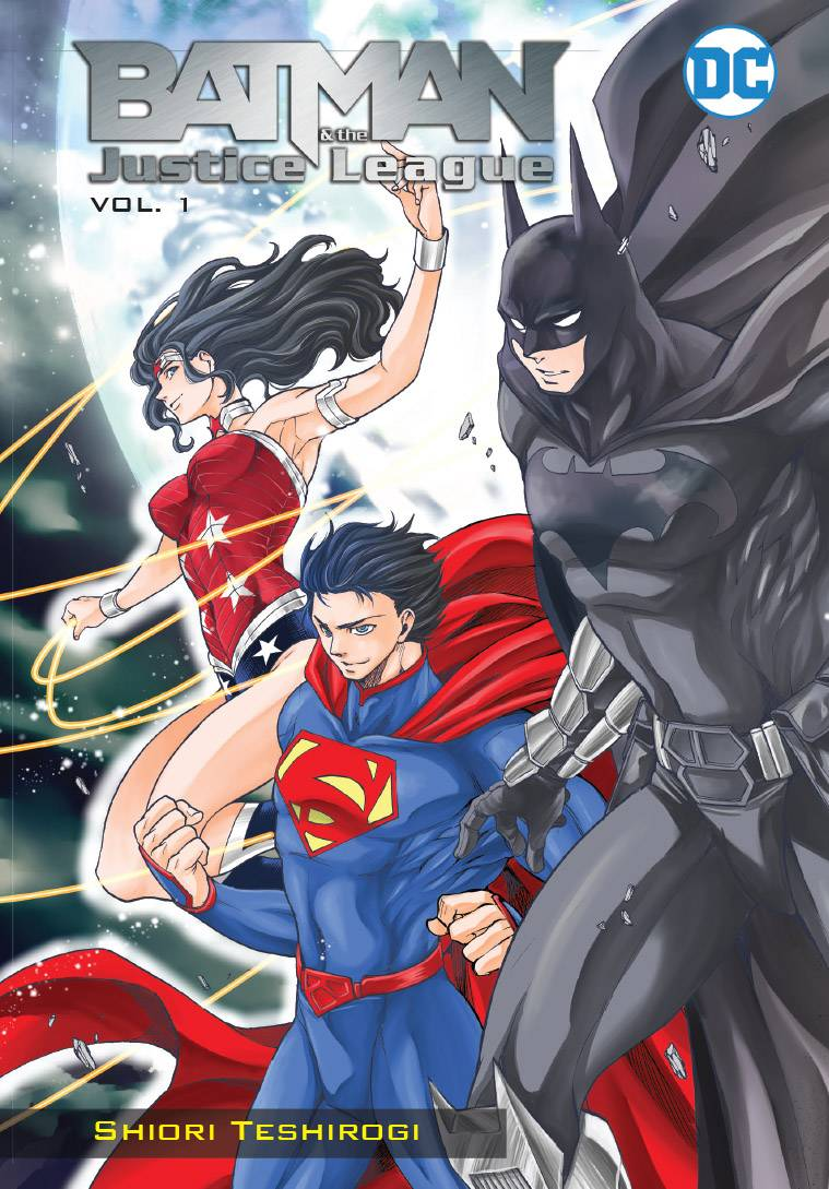 Batman and the Justice League Manga GN V1