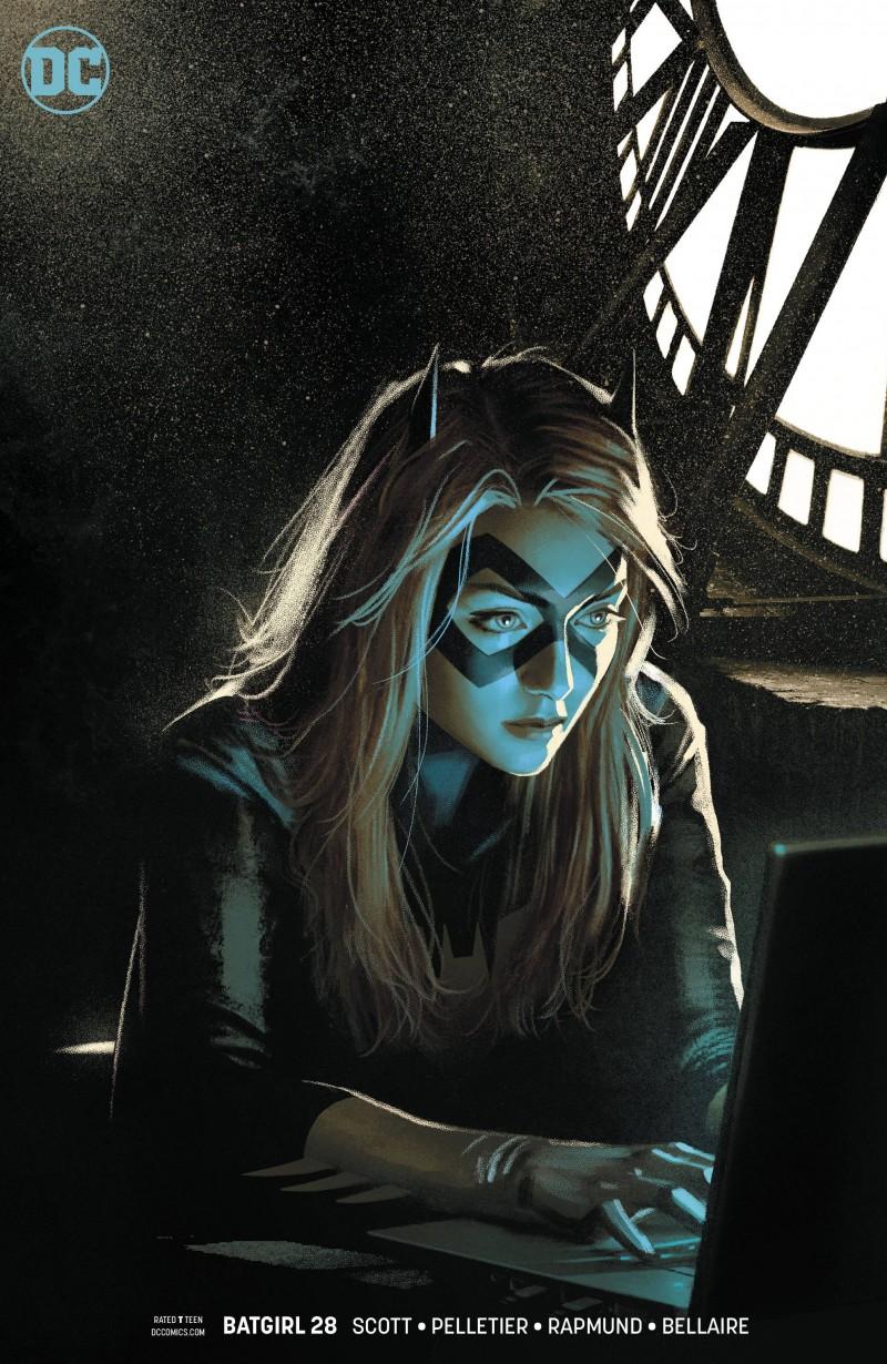 Batgirl V5 #28 CVR B