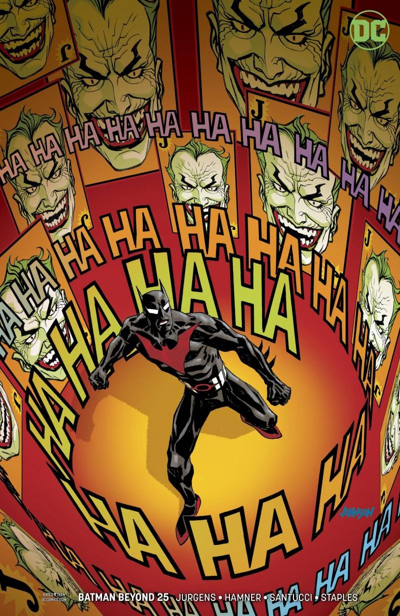 Batman Beyond V6 #25 CVR B