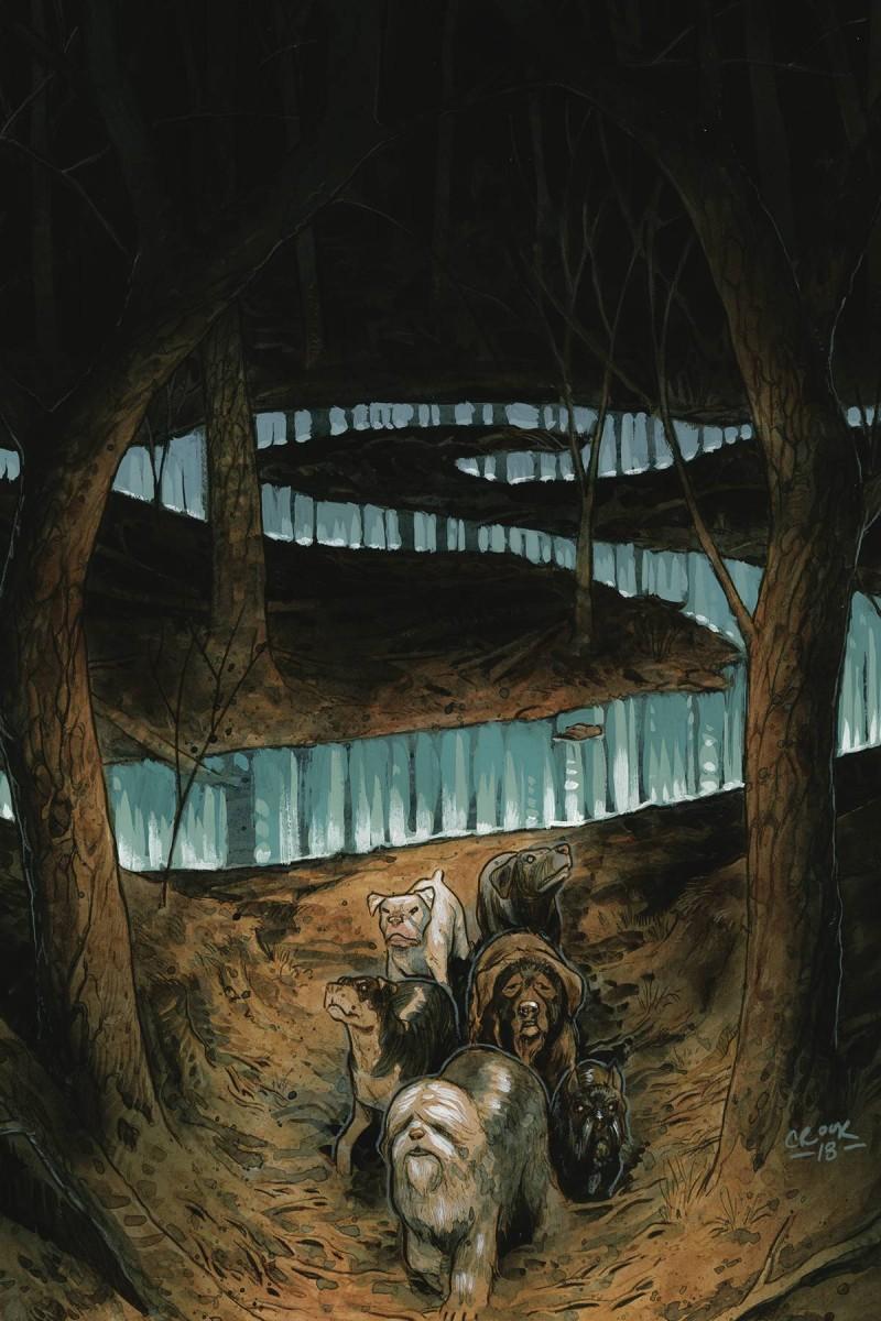 Beasts of Burden Wise Dogs and Eldritch Men #3 CVR B