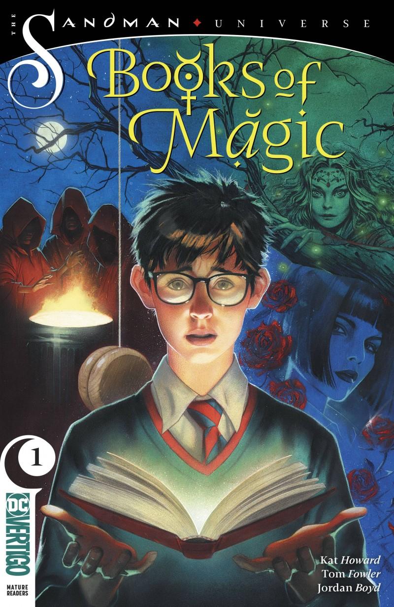 Books of Magic V2 #1 CVR B