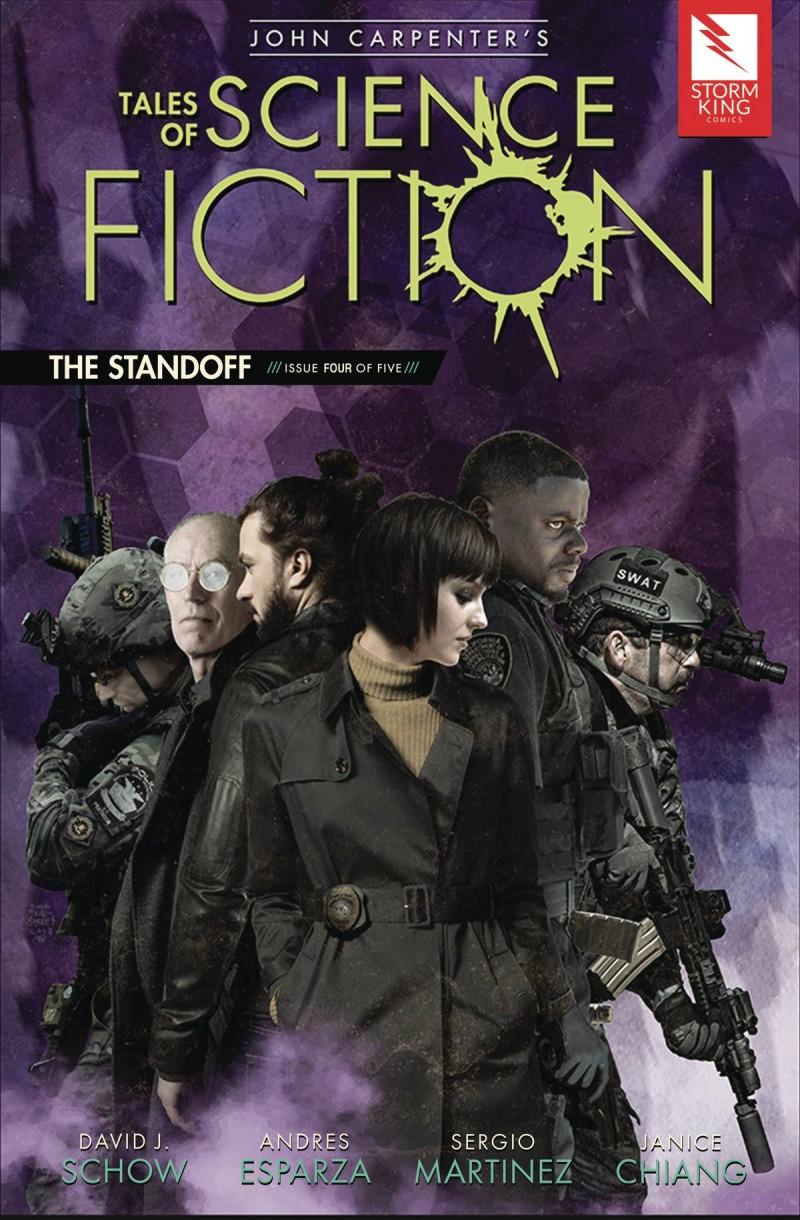 John Carpenter Tales of Sci Fi Standoff #4