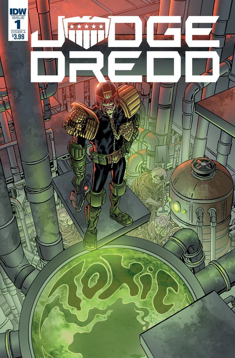 Judge Dredd Toxic #1
