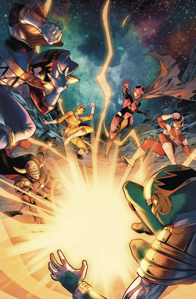 Mighty Morphin Power Rangers #32 CVR A
