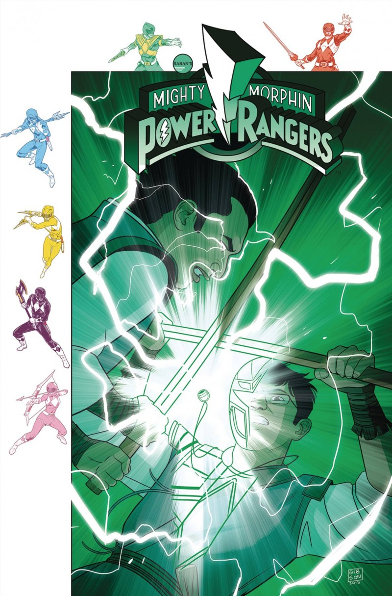 Mighty Morphin Power Rangers #32 CVR B