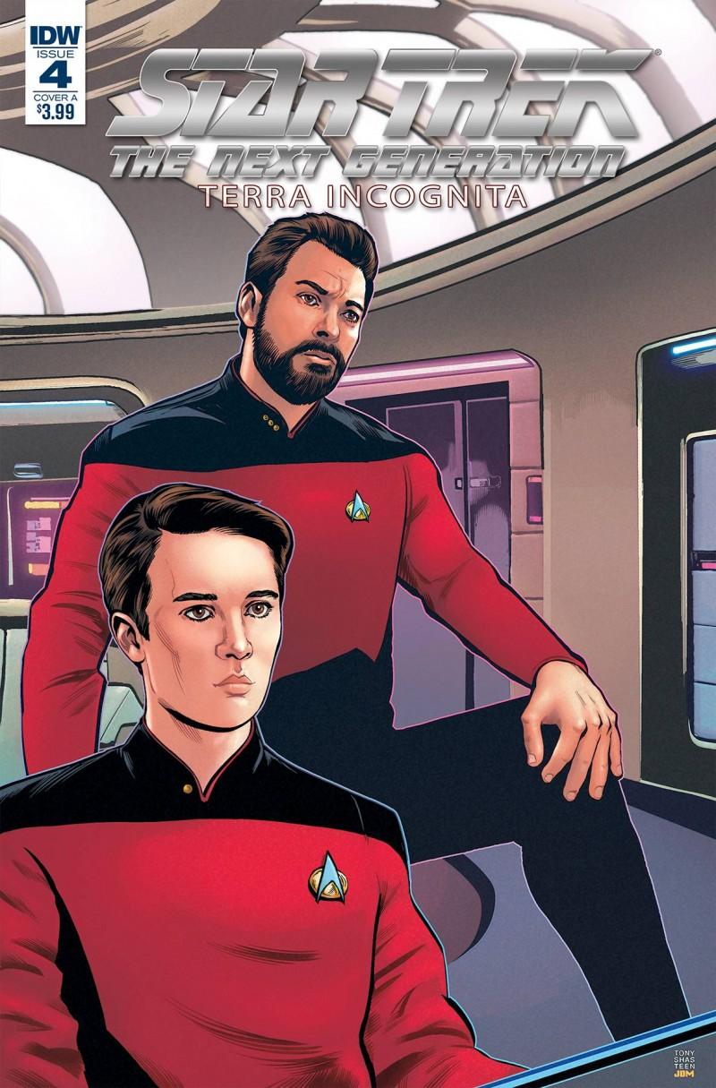 Star Trek TNG Terra Incognita #4 CVR A Shasteen