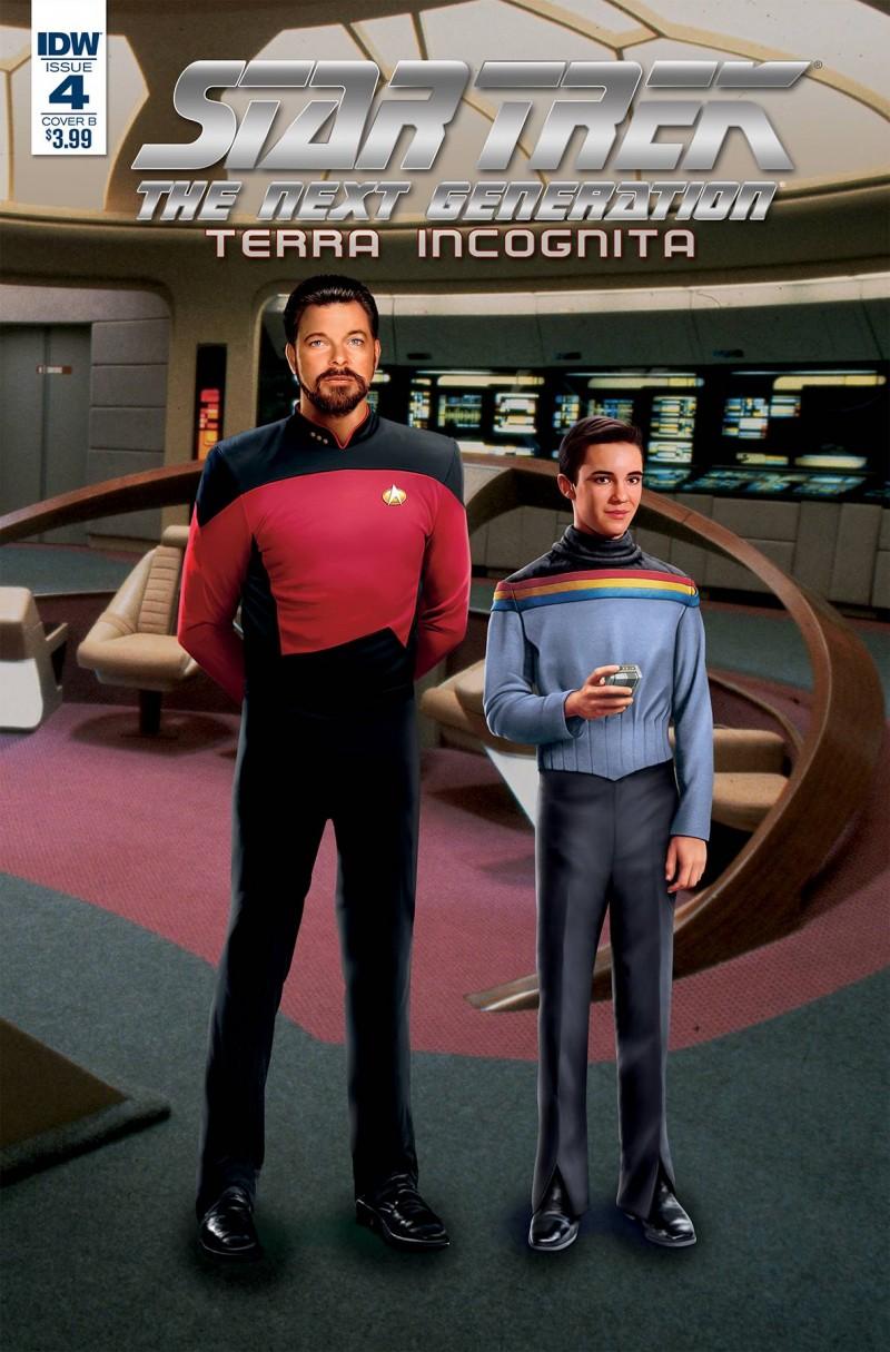 Star Trek TNG Terra Incognita #4 CVR B Photo