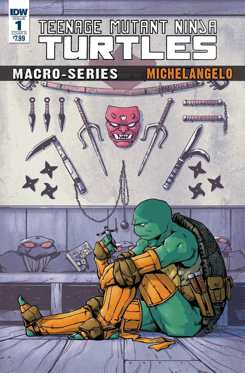 TMNT Macroseries #2 Michelangelo CVR B Dialynas