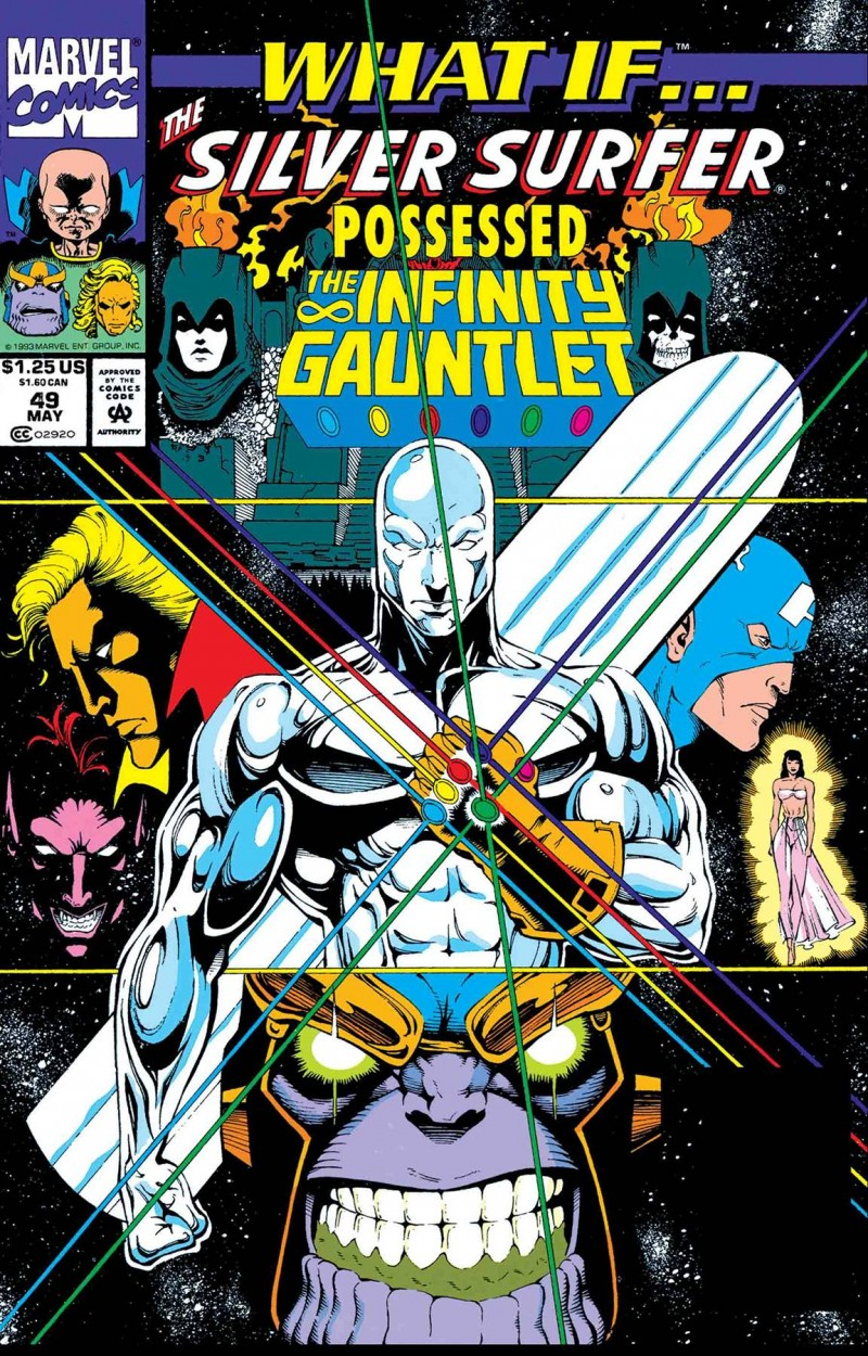 True Believers One-Shot What If Silver Surfer Possessed Gauntlet
