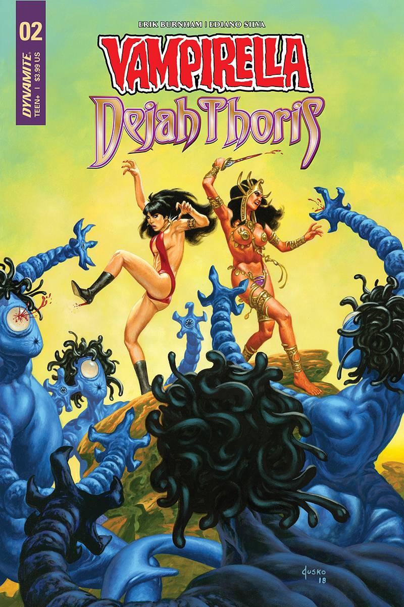 Vampirella Dejah Thoris #2 CVR D Jusko