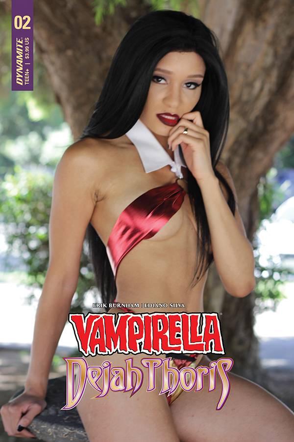 Vampirella Dejah Thoris #2 CVR E Vampirella Cosplay