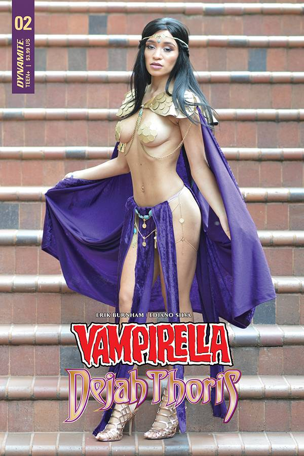Vampirella Dejah Thoris #2 CVR F Dejah Thoris Cosplay