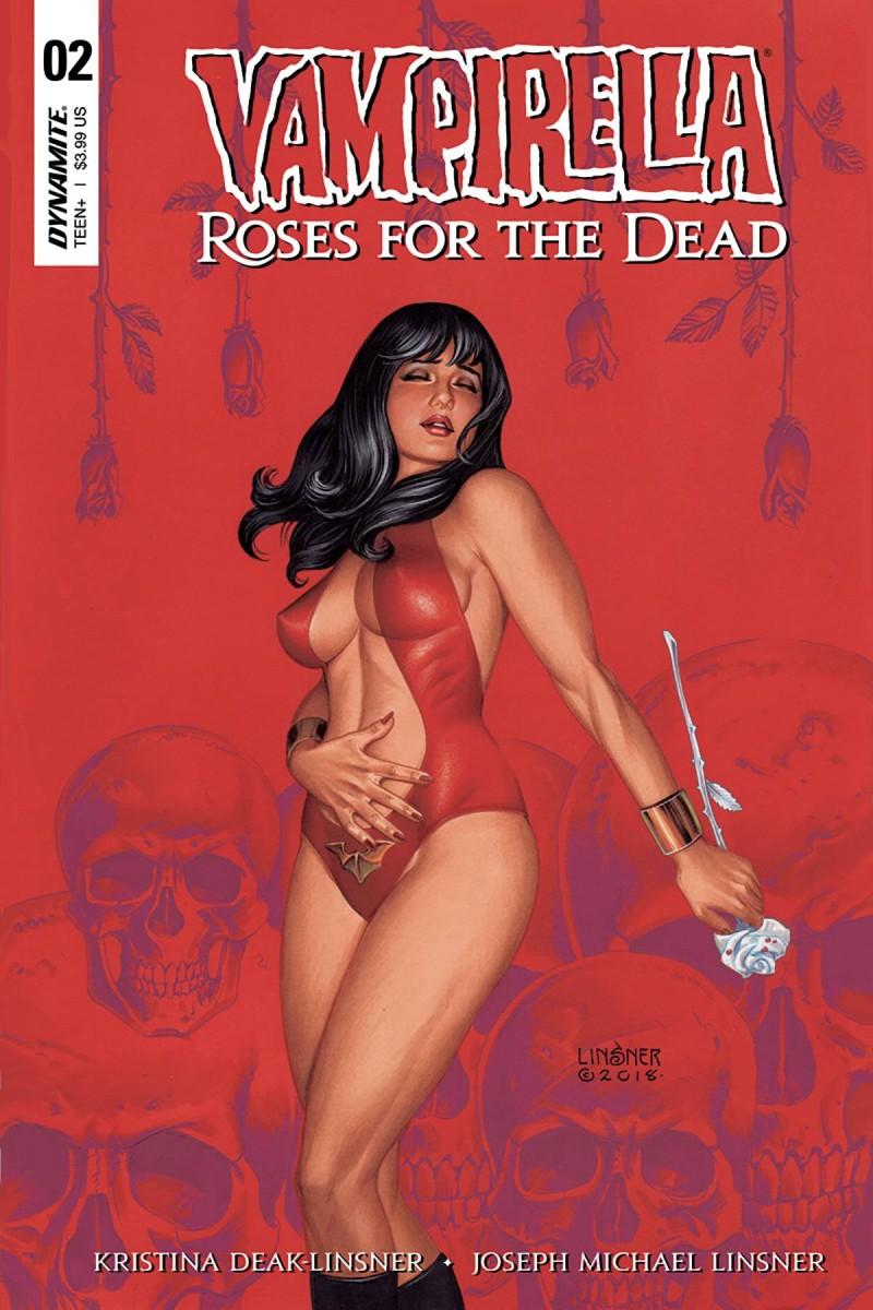 Vampirella Roses For Dead #2 CVR A Linsner