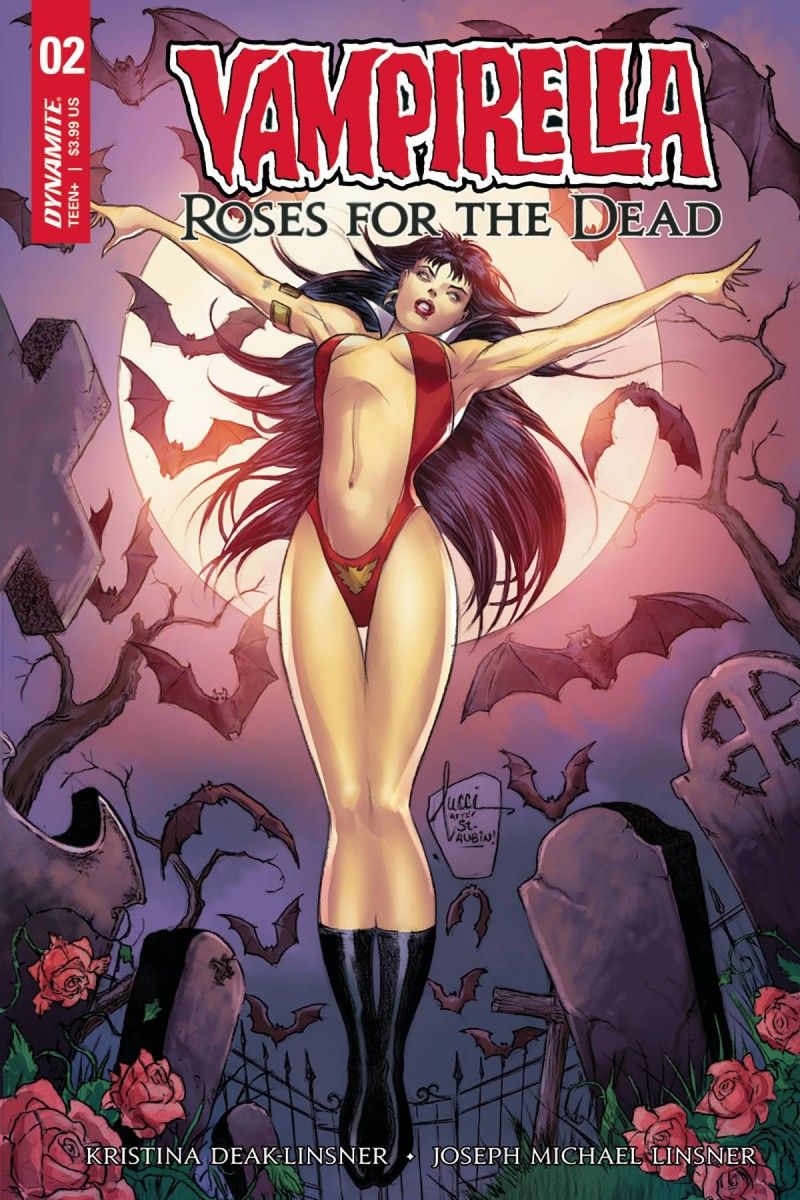 Vampirella Roses For Dead #2 CVR B Tucci