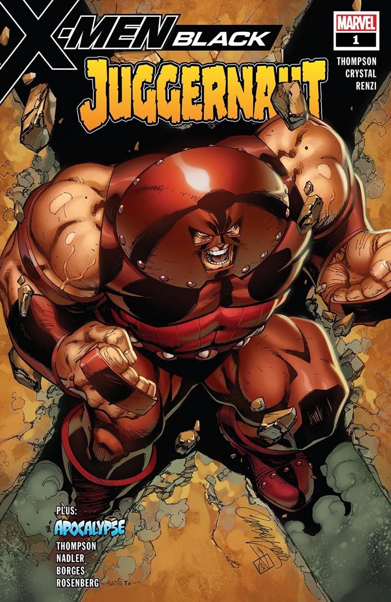 X-Men Black One-Shot Juggernaut