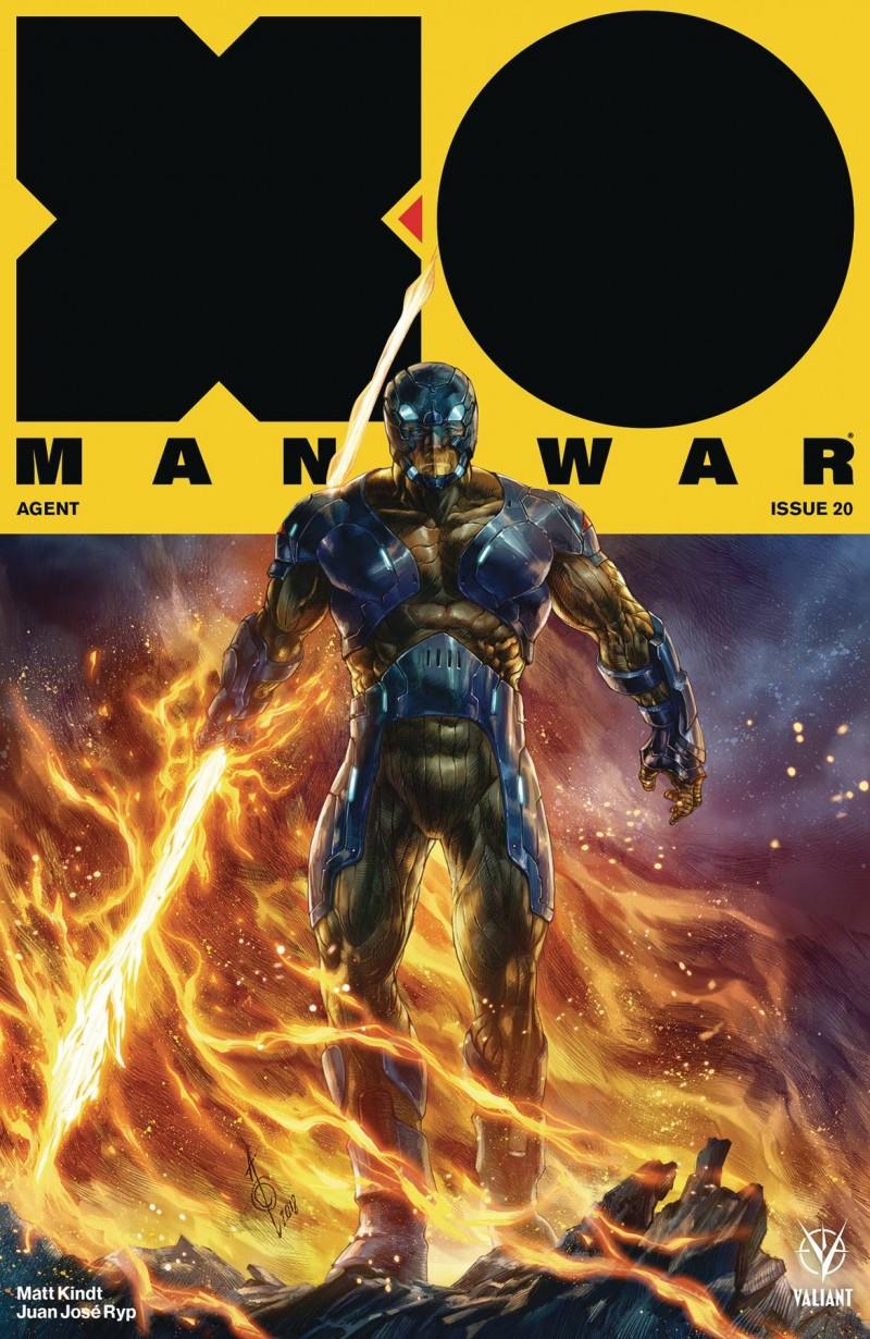 X-O Manowar V4 #20 CVR B Quah