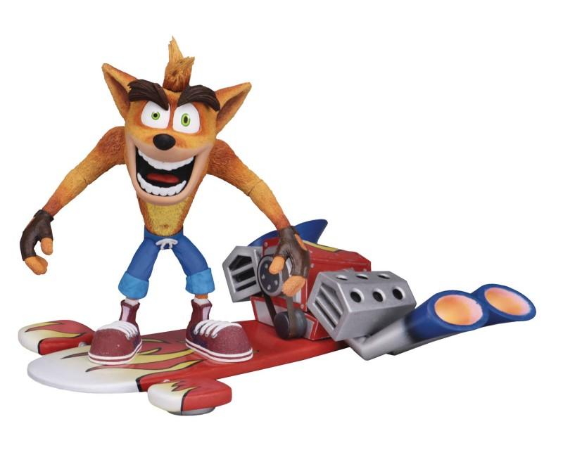 Crash Bandicoot AF Crash with hoverboard