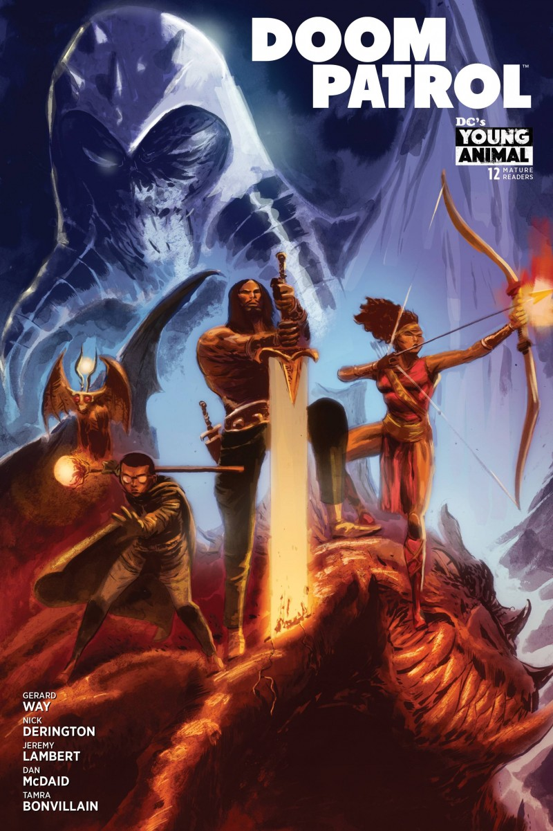 Doom Patrol  #12 CVR B