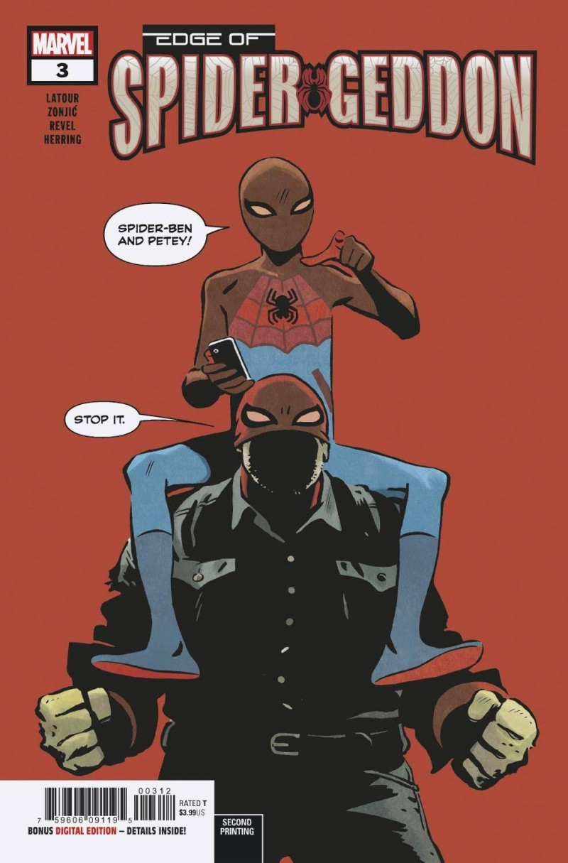 Edge of Spider-Geddon #3 Second Printing