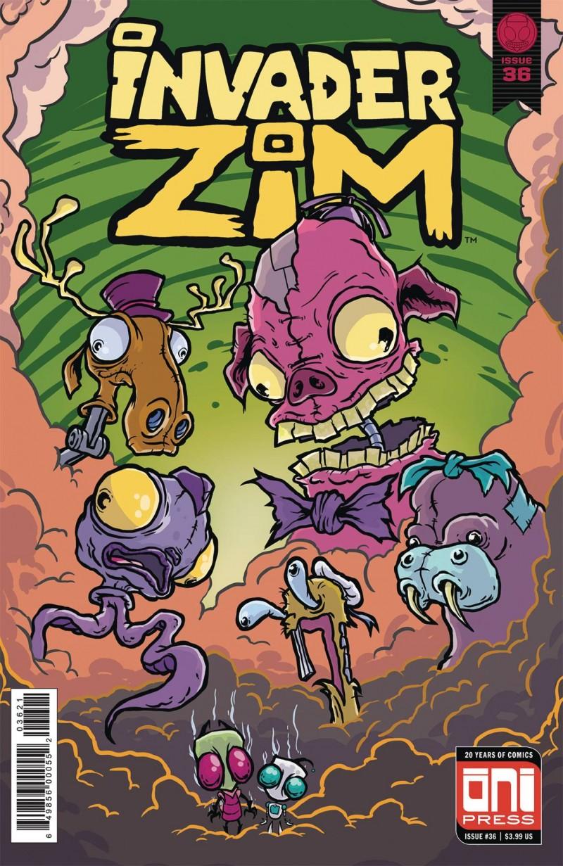 Invader Zim #36 CVR B