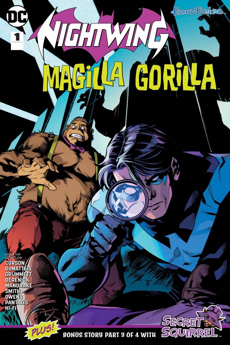 Nightwing Magilla Gorilla Special CVR A