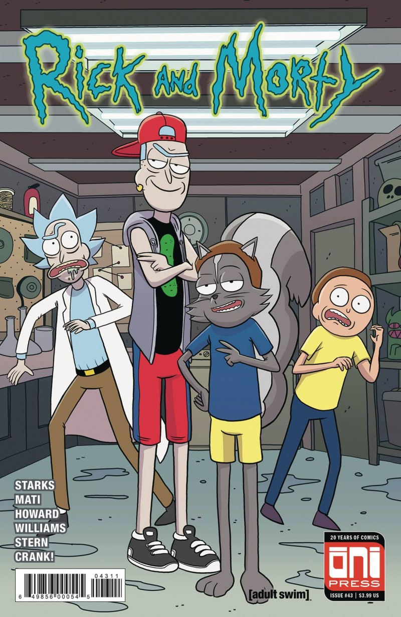 Rick and Morty #43 CVR A