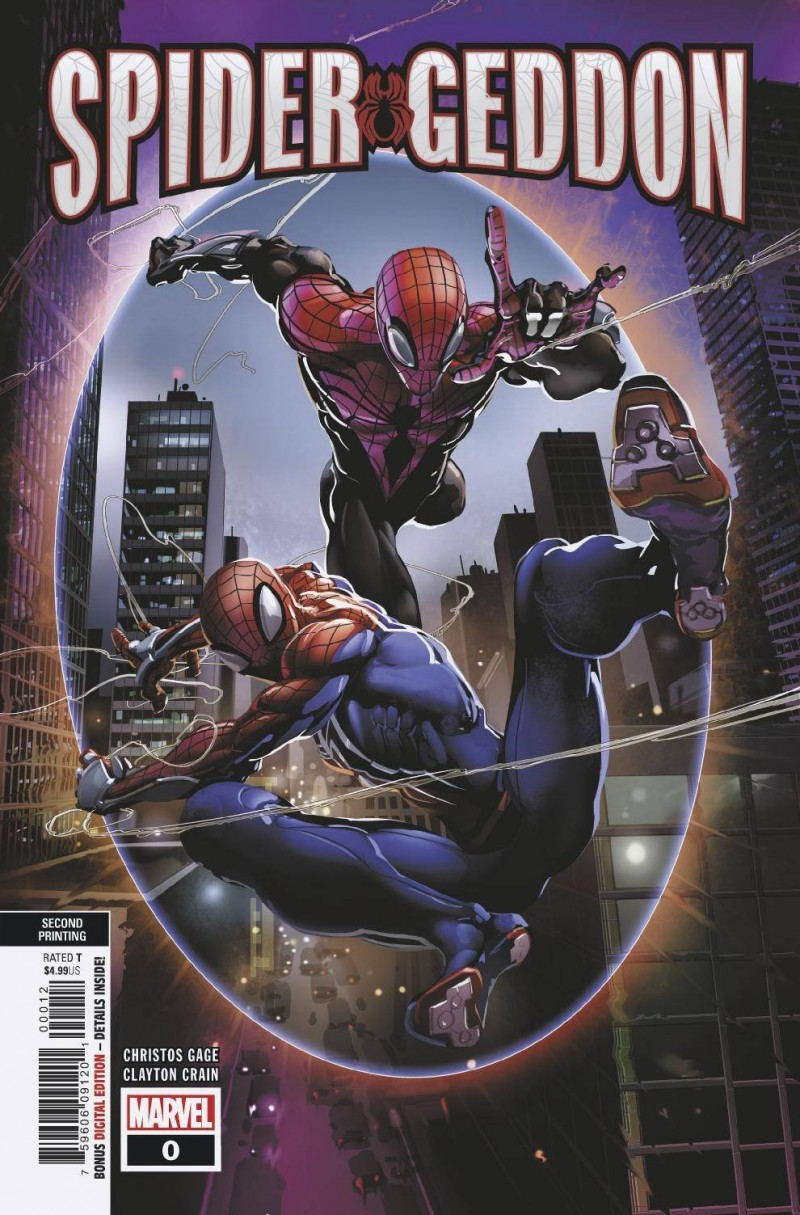 Spidergeddon #0 Second Printing