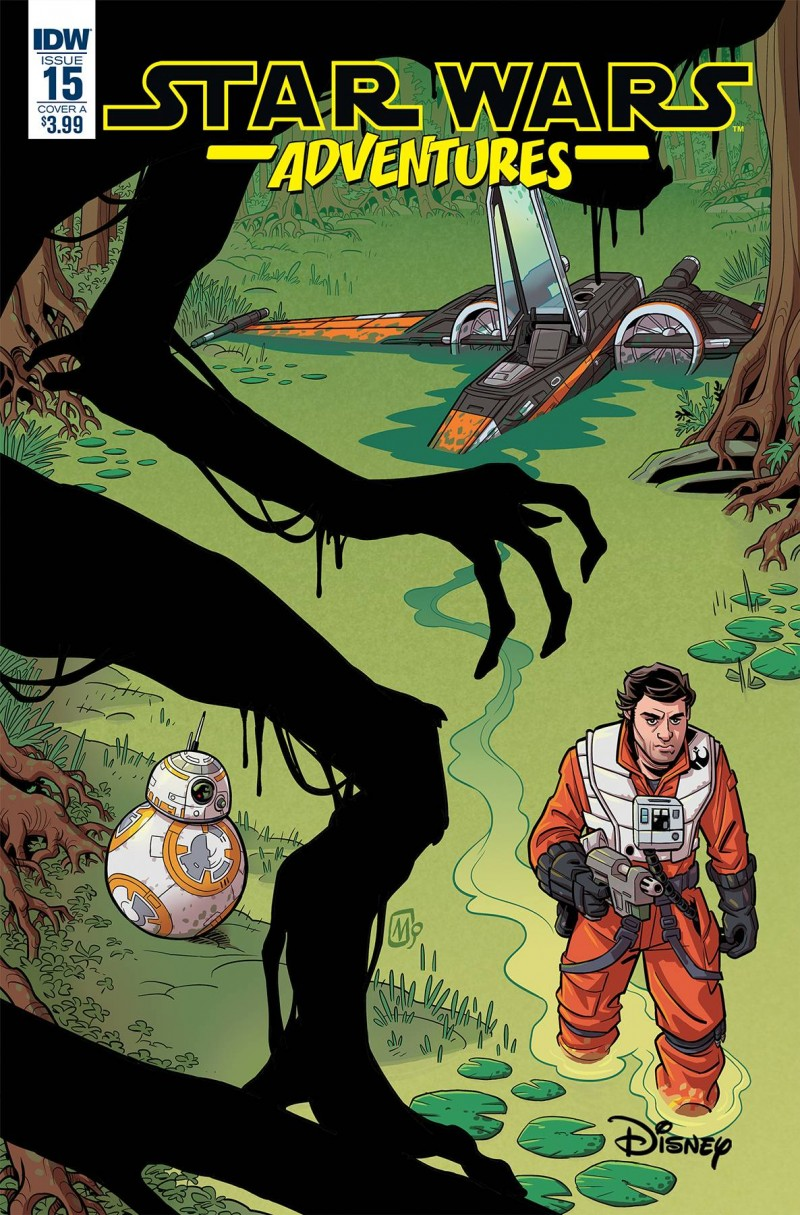 Star Wars Adventures #15 CVR A Mauricet